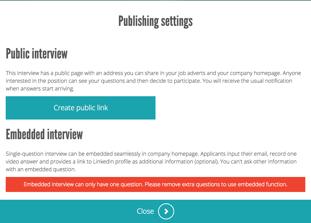Create Public Link